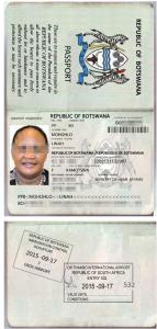 Ms. Linah Mohohlo Stolen Passport Botswana