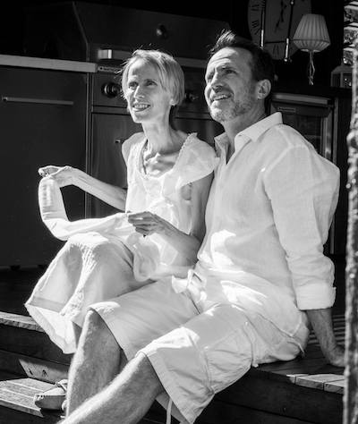Heidi Johanna Forsbacka & Michael in their final weeks together.